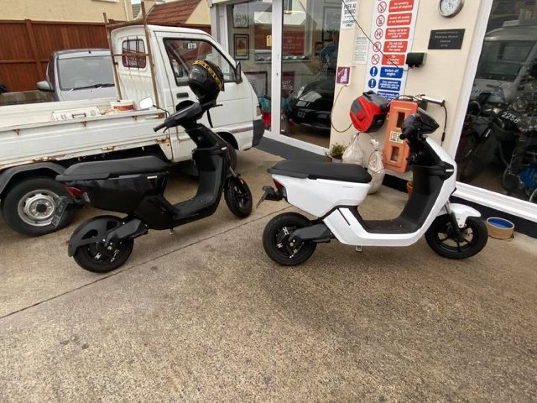 2x Keeway Electric Scooters