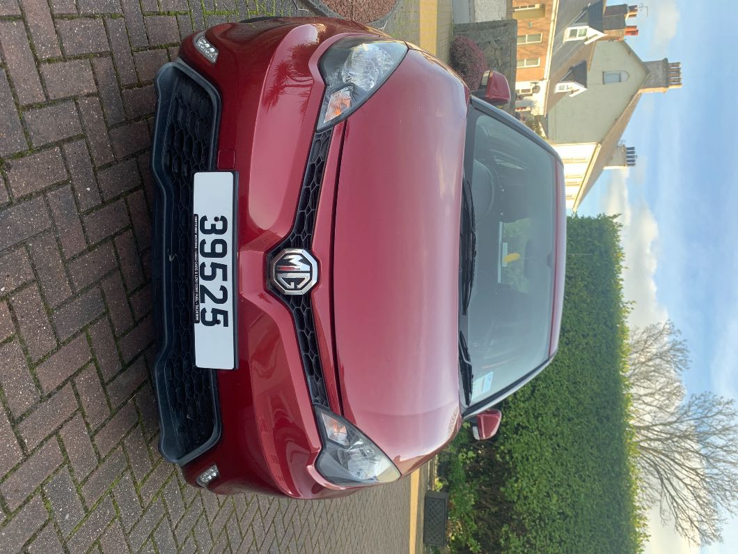 Red MG 3 Form Sport for sale