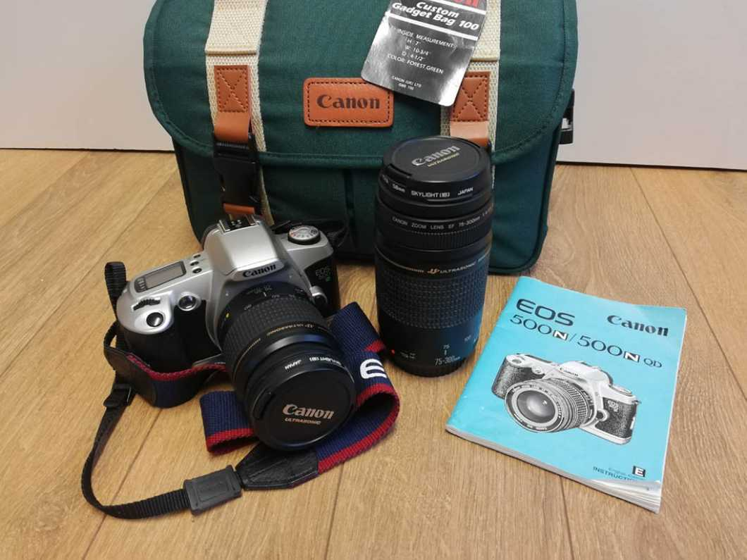 Canon Camera Kit in excellent condition