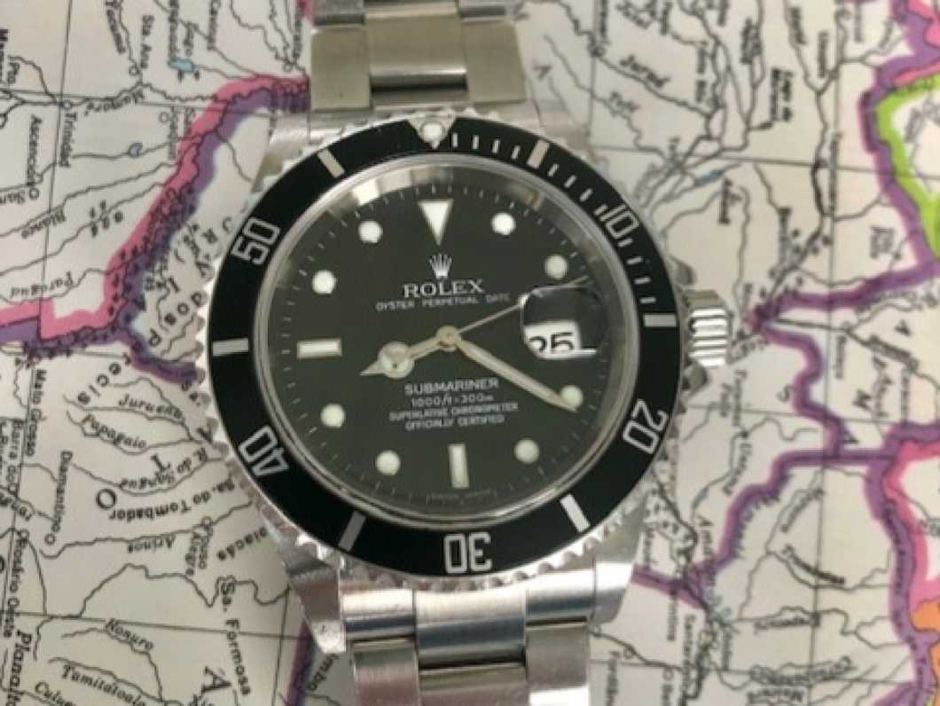 SOLD Rolex Submariner watch 16610