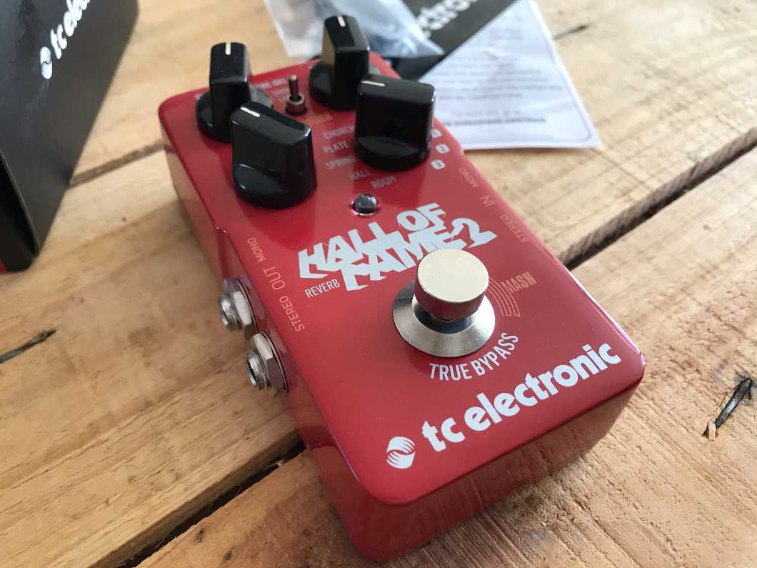 TC Electronic Hall Of Fame 2 Reverb Guitar Pedal