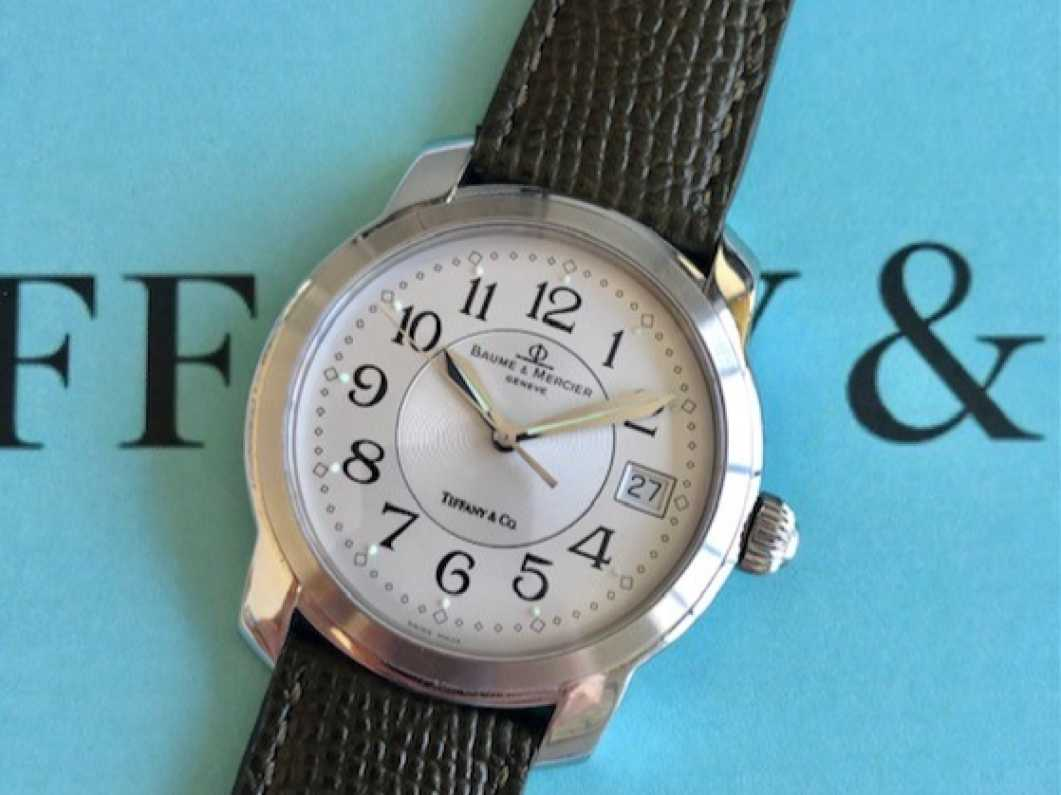 Baume & Mercier Tiffany stamped dial watch