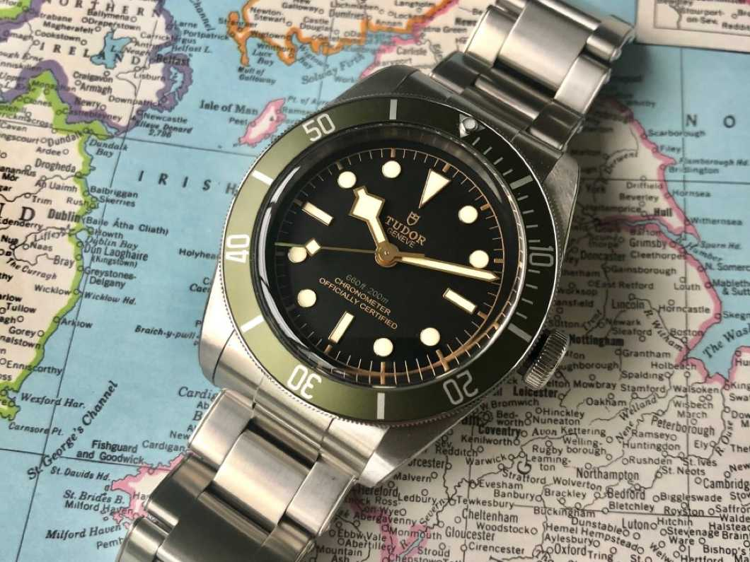 SOLD Tudor Black Bay Harrods watch