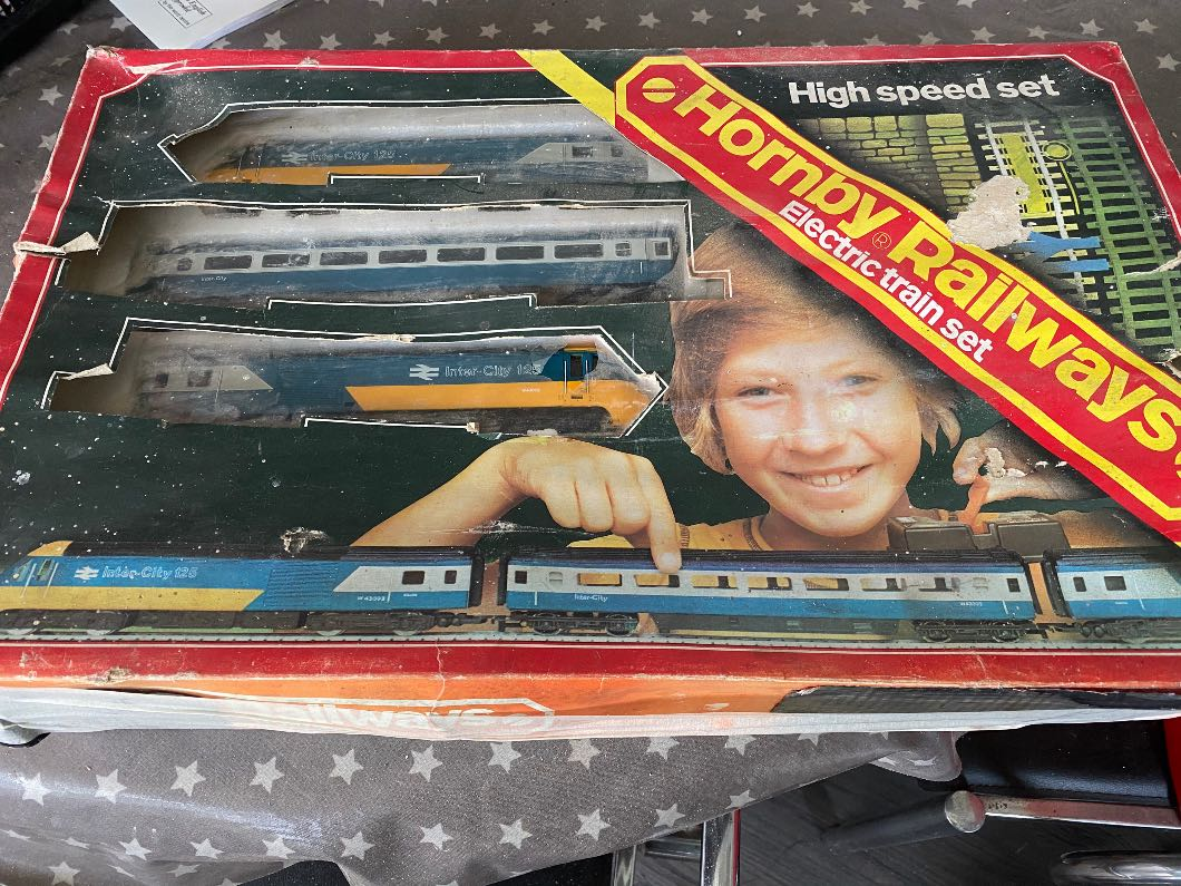 Hornby Railways 125 Train set 1977.