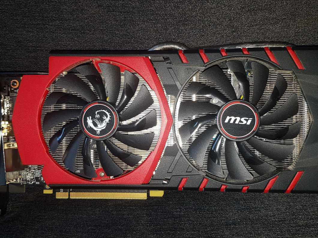 Graphics Card - MSI NVIDIA GTX 970 4GB Gaming Twin Frozr