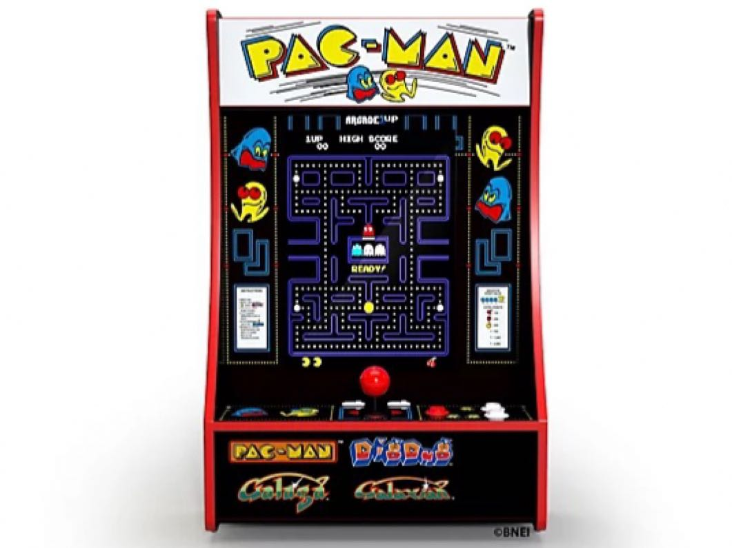 """Arcade 1 Up Partycade 16.7"""" LCD Game Machine, 4 Games including Pacman"""