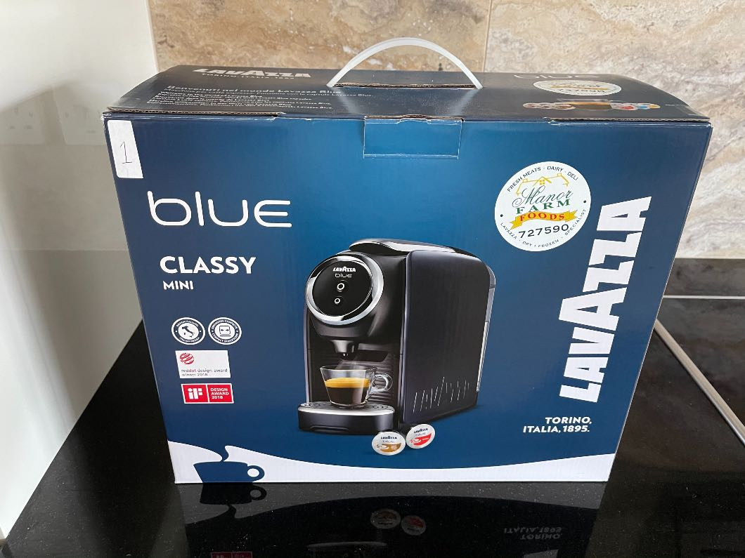 Lavazza Classy Mini Coffee Machine