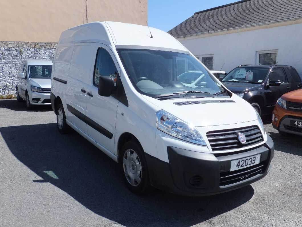 Fiat Scudo high top, 2012. Just been serviced