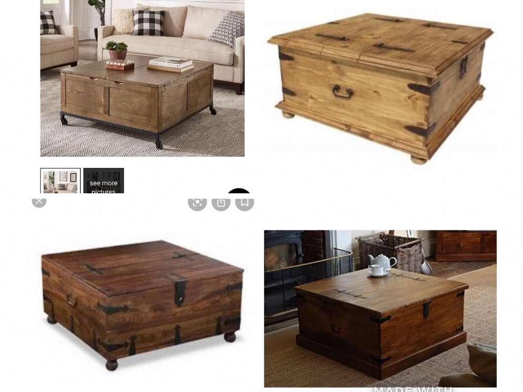 **Wanted** Trunk/Chest coffee table & sideboard