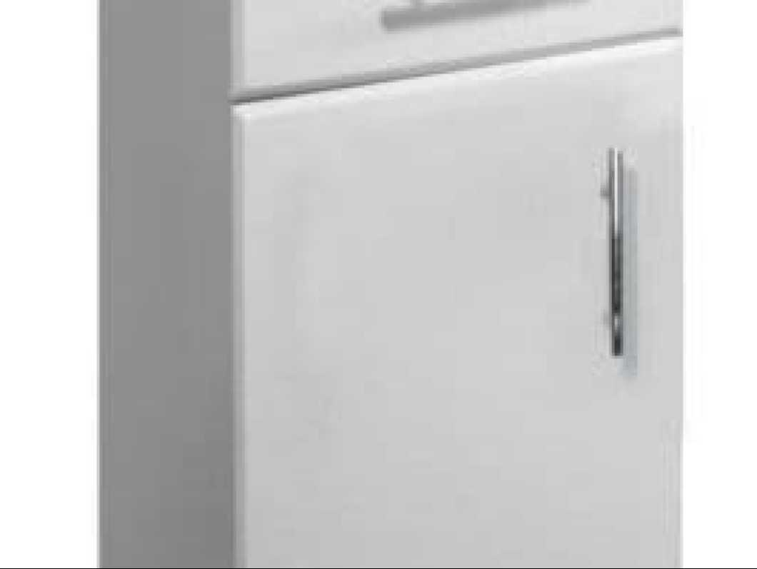 NUIE 250mm x330mm Classic Gloss White Cupboard Unit VTY005