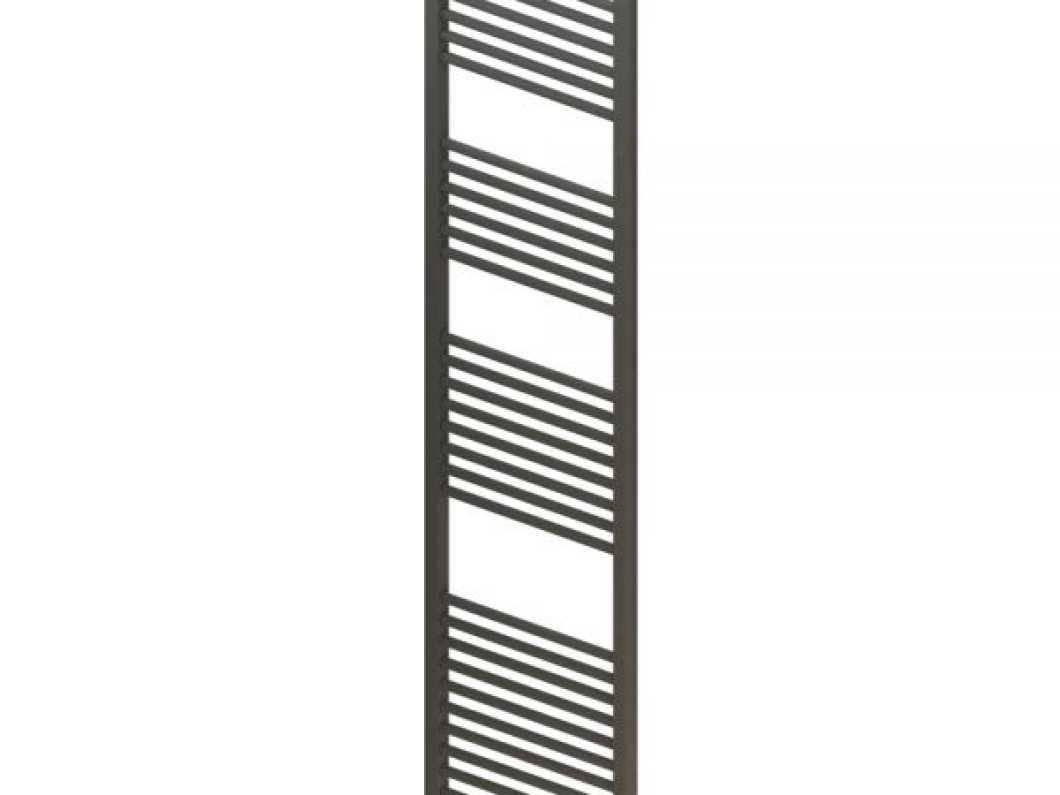Eastbrook Wingrave 1800 x 400 Straight Anthracite Towel Rail WE HAVE 3 OF THESE! AVAILABLE IN CHROME ALSO