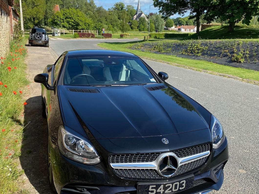 Mercedes AMG Line convertible with LOW kms