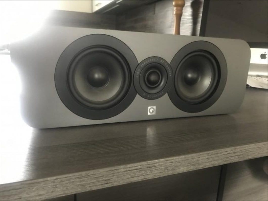 Q acoustics center/ mid speaker
