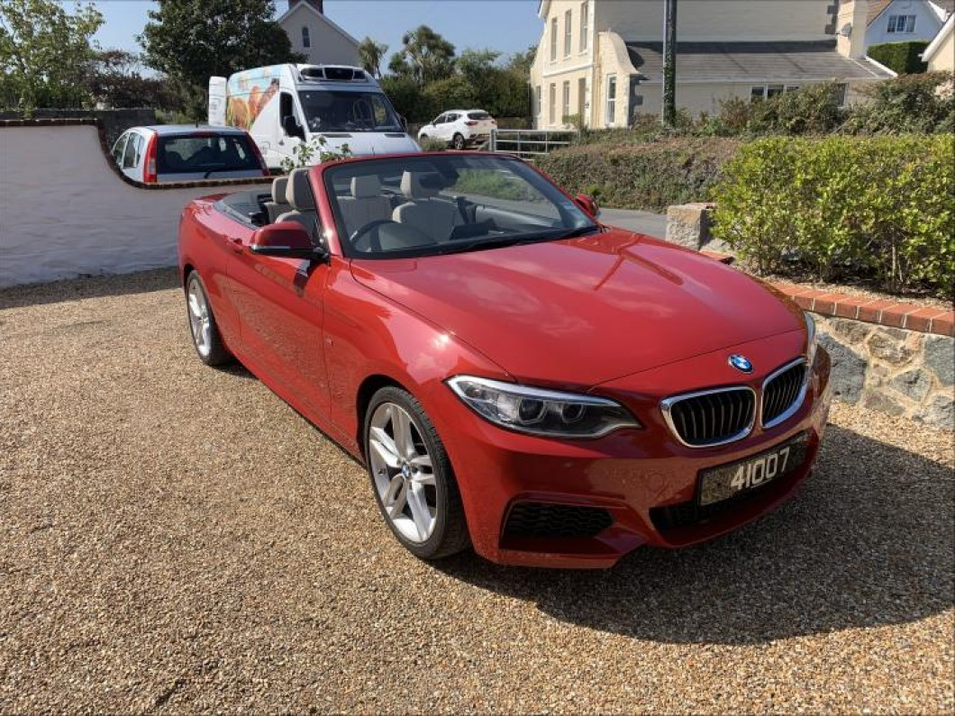 BMW 218i M Sport Convertible Automatic
