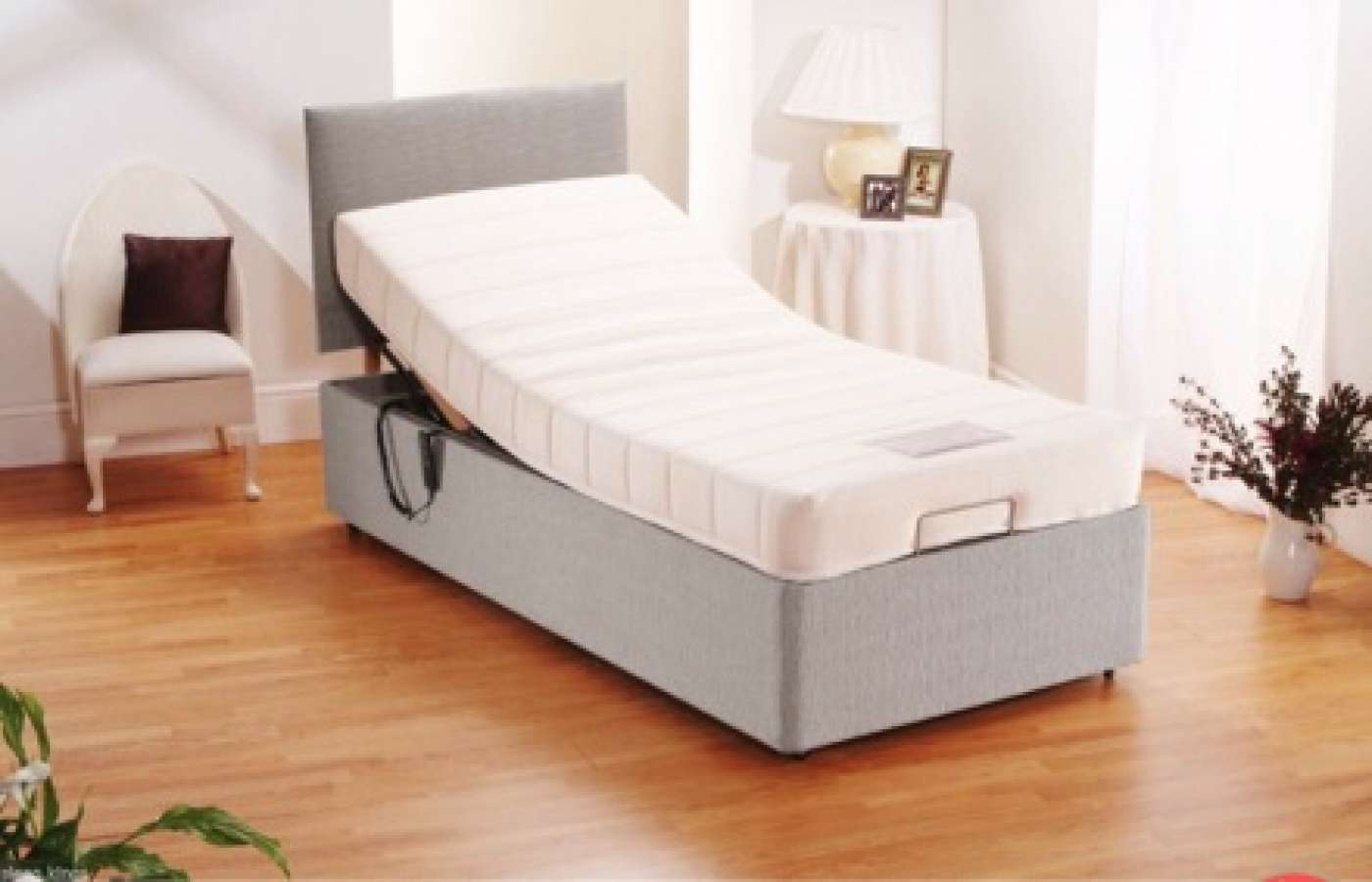 Electric Bed and matching headboard