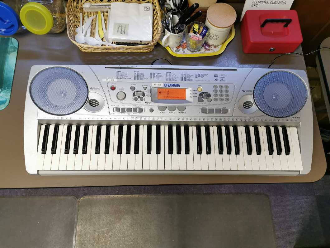 Second hand Yamaha keyboard