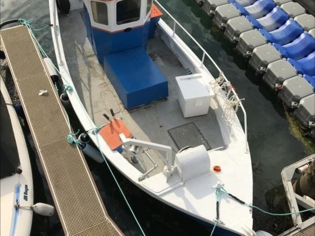 IP 23FT GRP commercial fishing boat