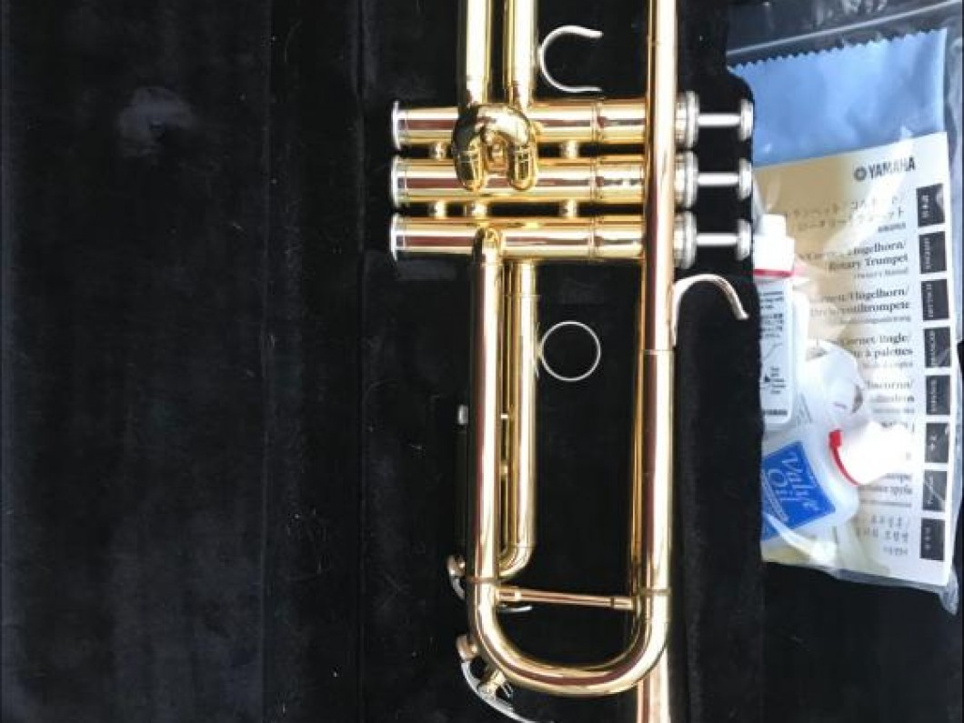 Yamaha YTR-4335G Bb Trumpet (Gold Lacquer) - mint condition
