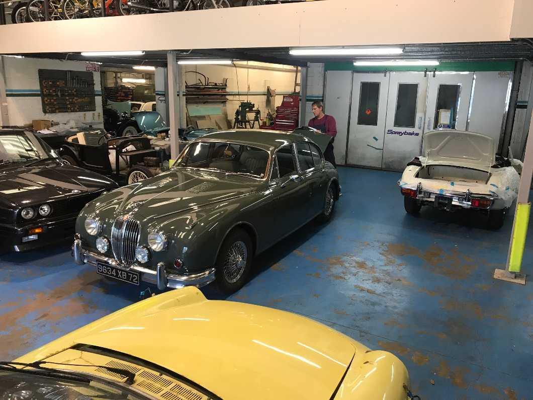 Vintage and classic vehicle restoration in the Channel Islands