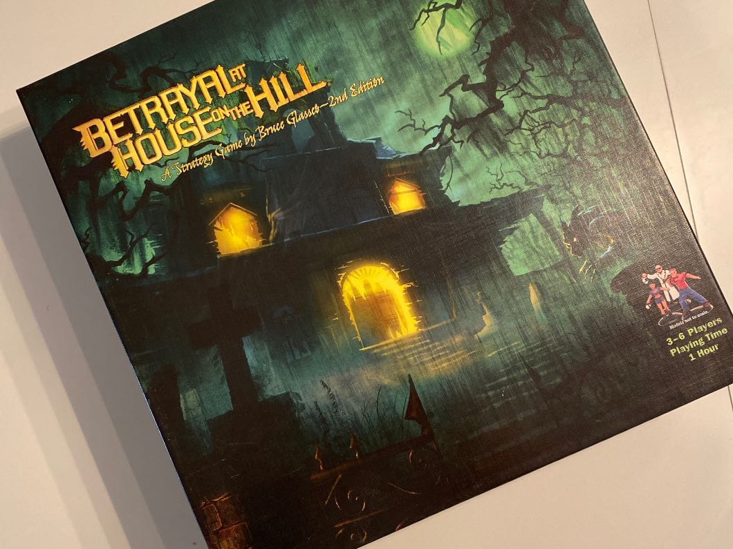 Betrayal at the House on the Hill board game