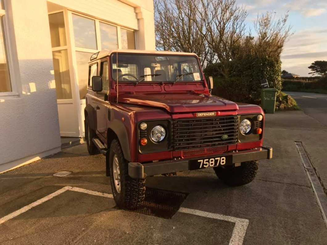 2004 Land Rover Defender 90 TD5 CSW