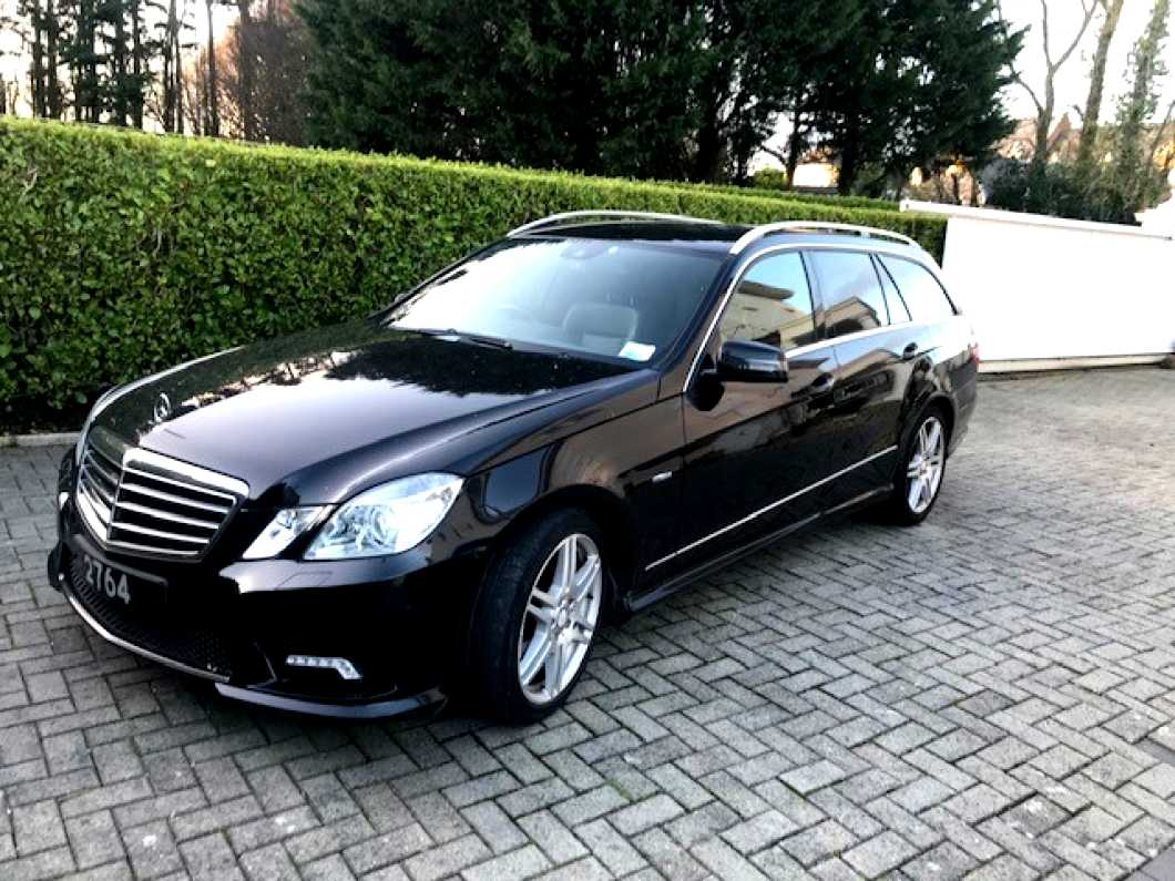 Mercedes E350 CDI Blue efficient Estate