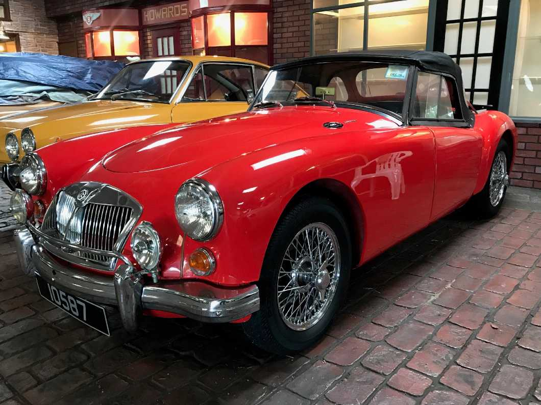 1962 MGA 1600 MK II Roadster RHD restored with supercharged engine & 5 Speed Gear Box