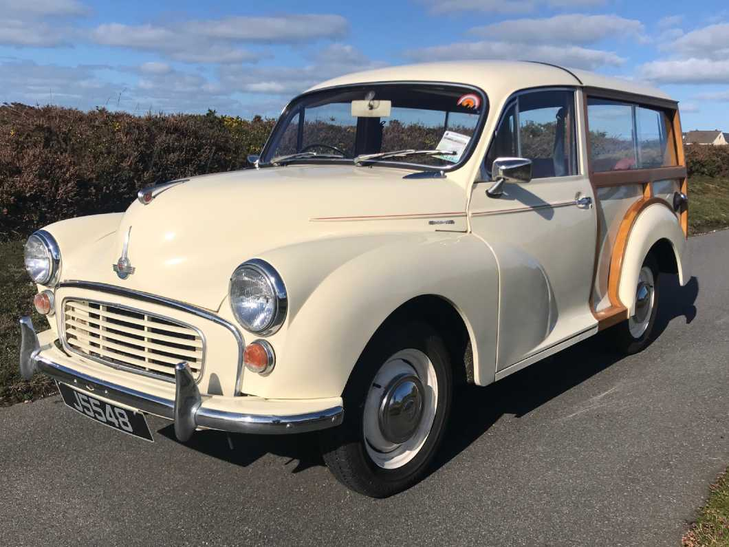 1965 Morris Minor Traveller FOR HIRE at JERSEY CLASSIC HIRE .com