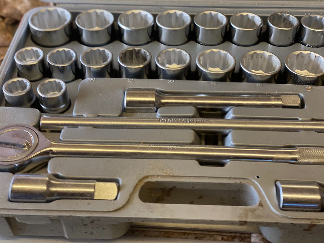 3/4 inch Socket set