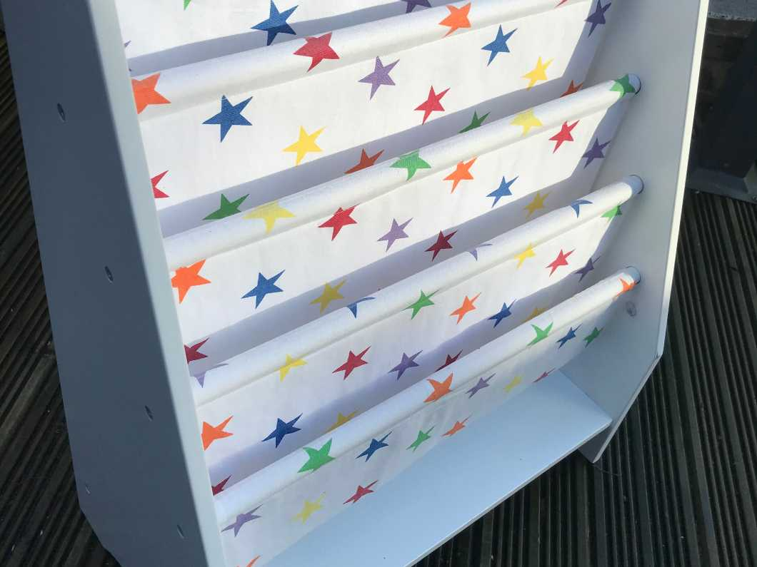 Rainbow Star Sling Bookcase