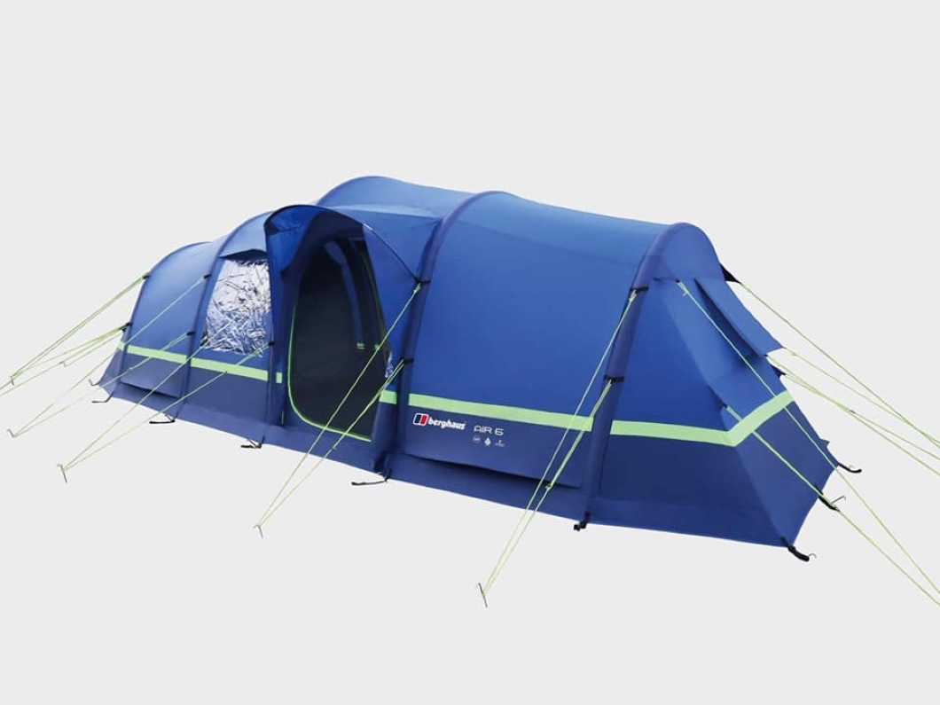 Berghaus Air 6 Tent with porch kit and footprint