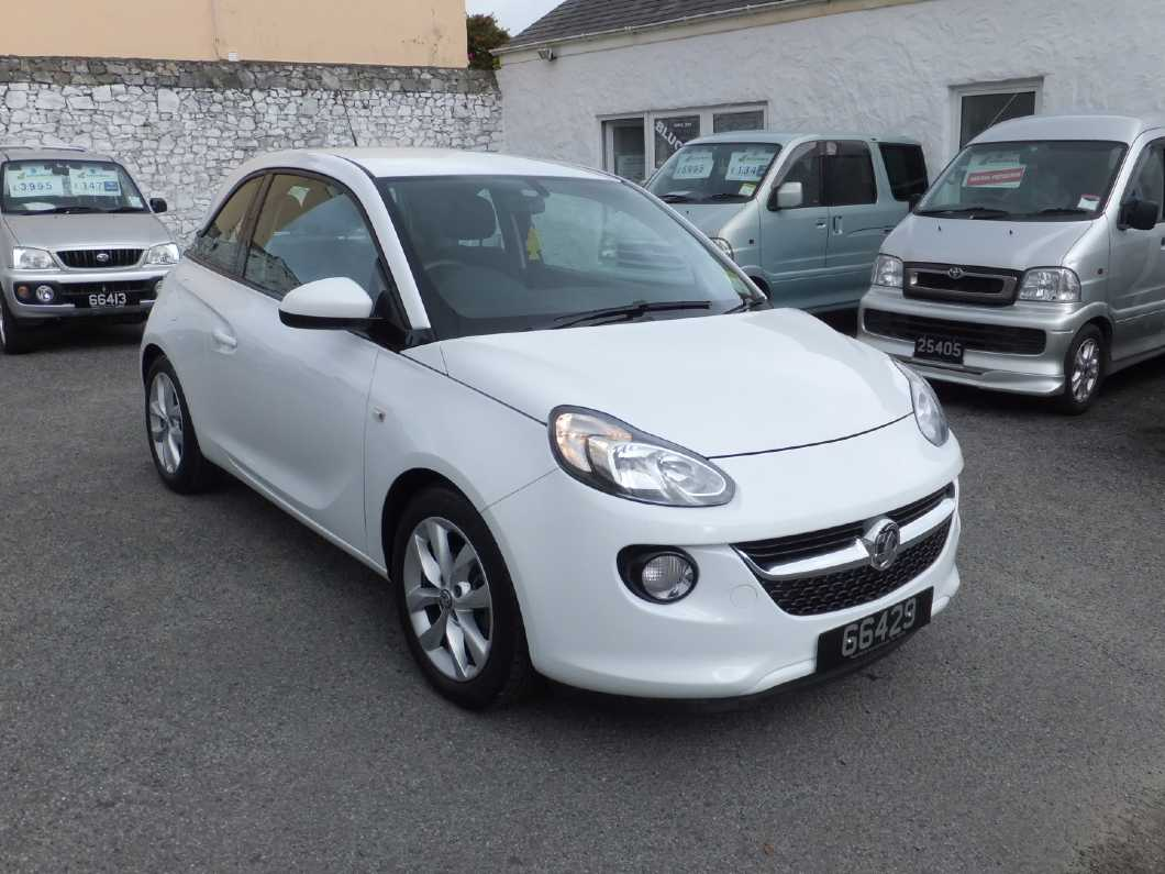 Vauxhall Adam, 2018 (only 18 months old)