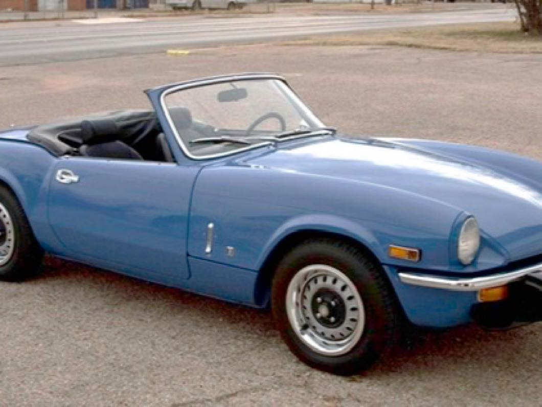 WANTED Triumph Spitfire