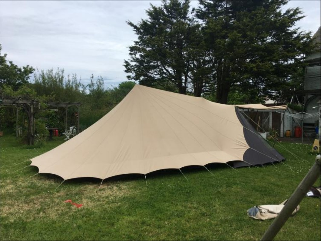 Iconic Canvas Tent & Accessories