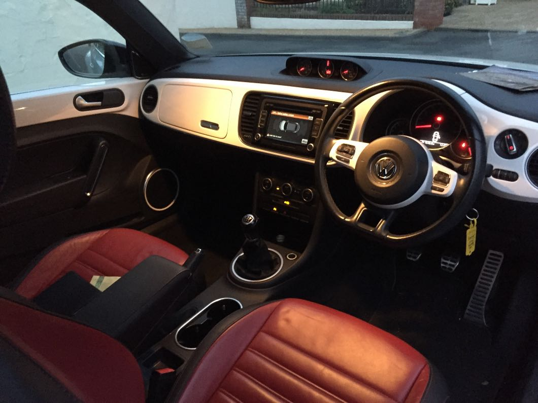 VW Beetle convertible 1.4 60s edition