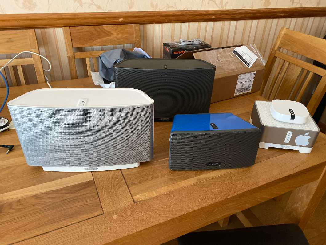 Sonos home streaming system worth over £1300