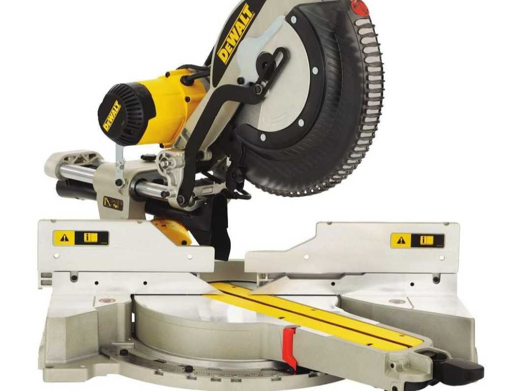 New liDEWALT DWS780-GB Compound Slide Mitre Saw with XPS, 240 V