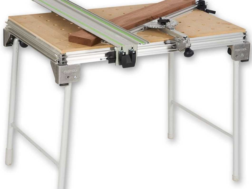 New Festool Multifunction Table MFT3 with Accessories