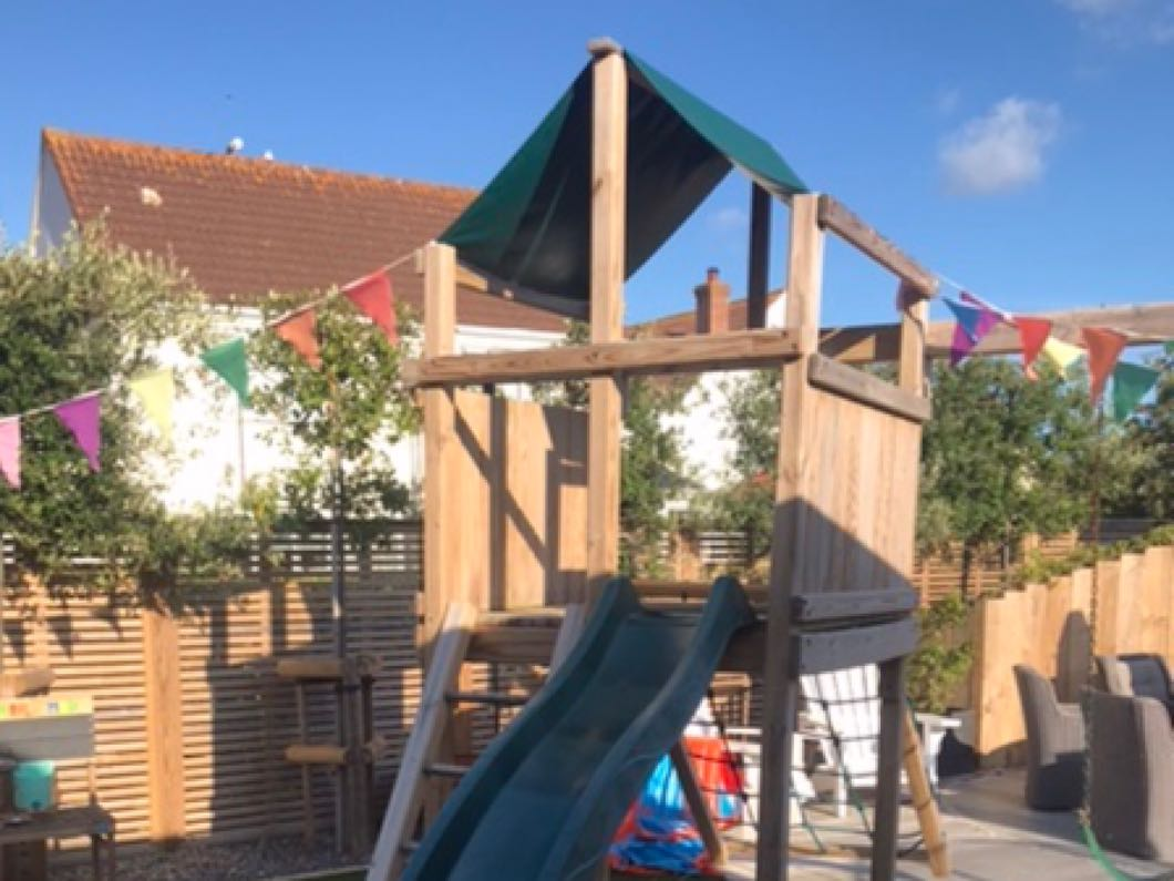 Children's Garden Activity Tower