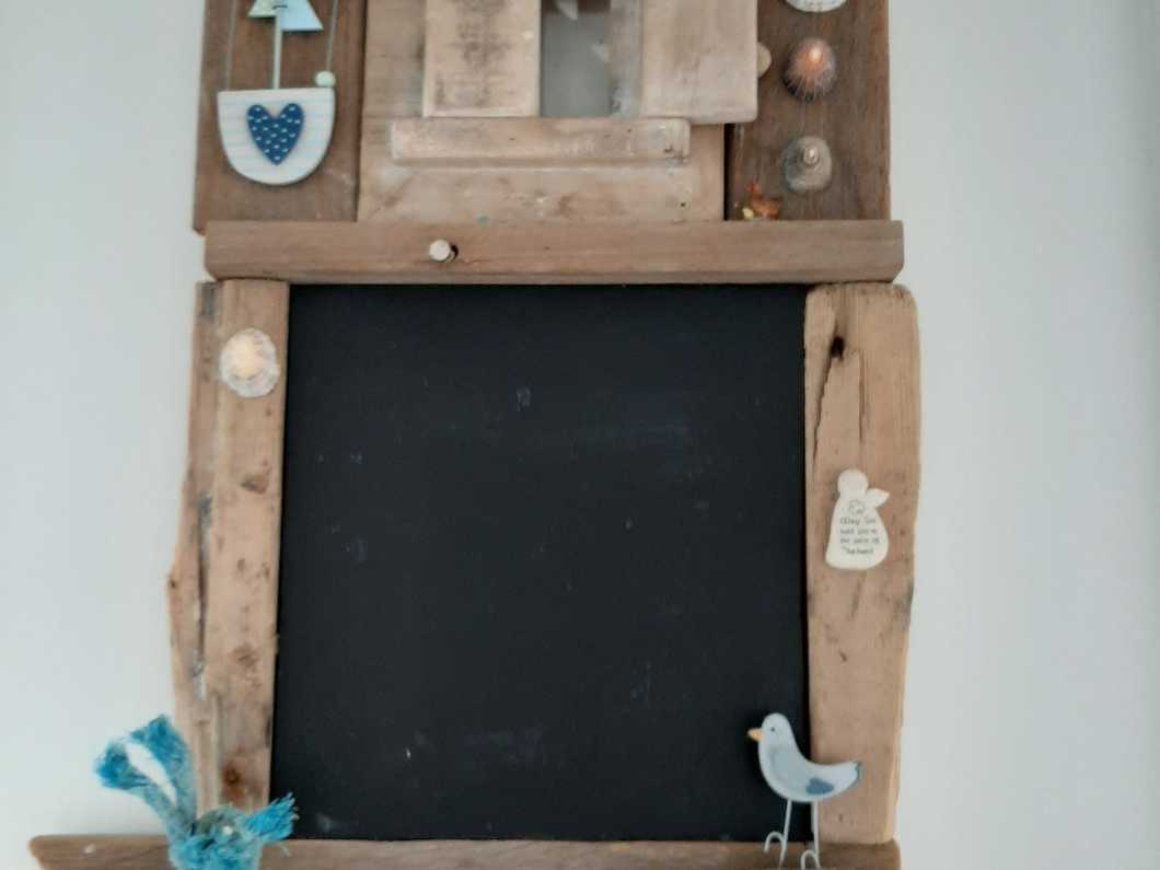 Guernsey Driftwood Notice Board