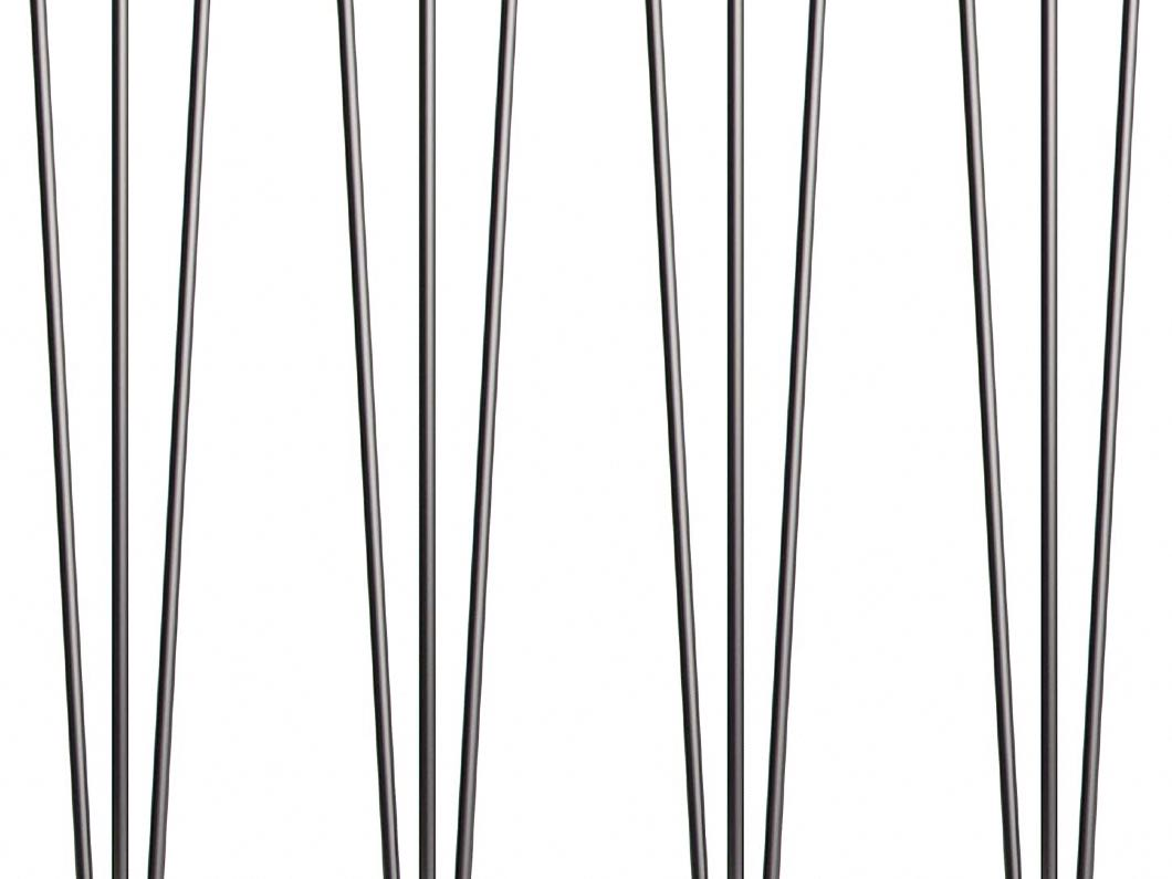4 x Hairpin Table Legs – Black