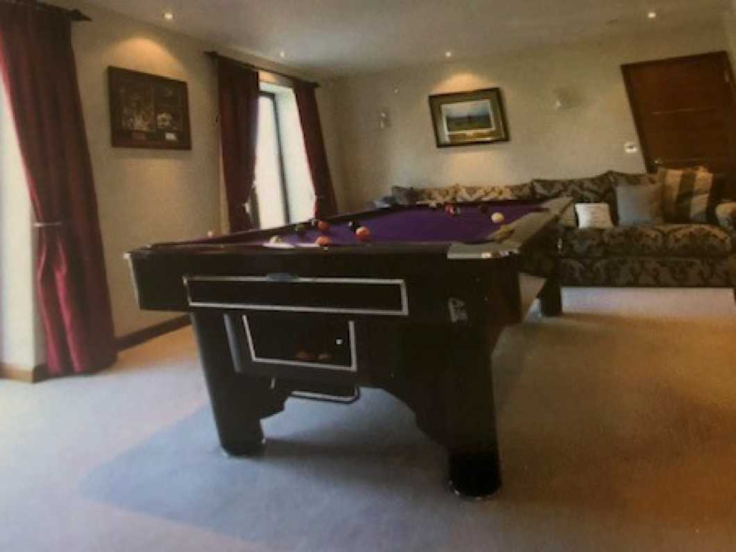 IMMACULATE POOL TABLE.